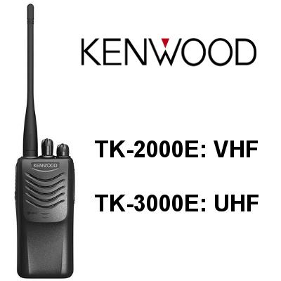 Walkie KENWOOD TK-2000E / TK-3000E