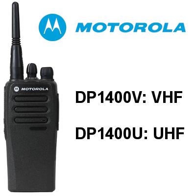 Walkie MOTOROLA DP1400V / DP1400U de Motorola