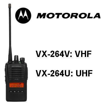 Walkie MOTOROLA VX-264V / VX-264U