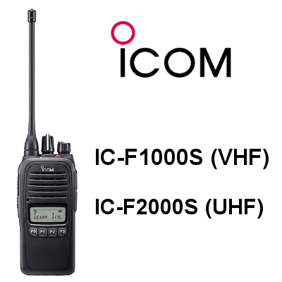 Walkie ICOM IC-F1000S / IC-F2000S