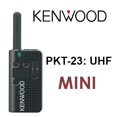 walkie kenwood pkt-23