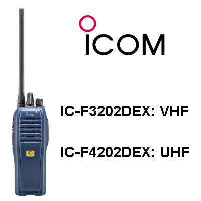 walkie ICOM DIGITAL IC-F3202DEX / IC-F4202DEX