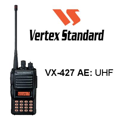 Walkie VERTEX STANDARD VX-427 AE