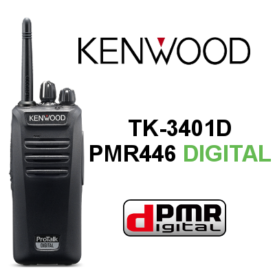 WALKIE DIGITAL KENWOOD TK-3401D