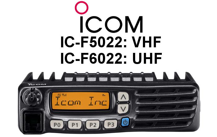 EMISORA ICOM IC-F5022 / IC-F6022 PMR
