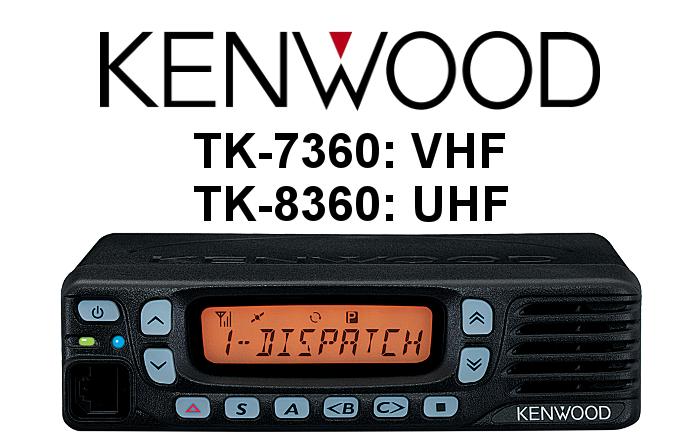 EMISORA KENWOOD TK-7360 / TK-8360