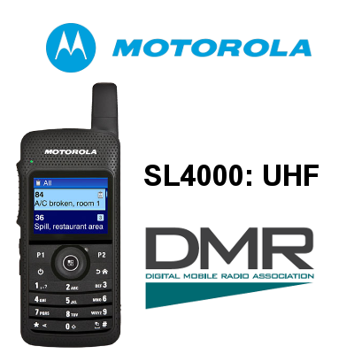 WALKIE MOTOROLA DIGITAL SL4000