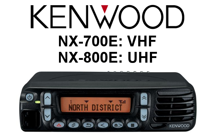 Emisora DIGITAL KENWOOD NX-700E / NX-800E