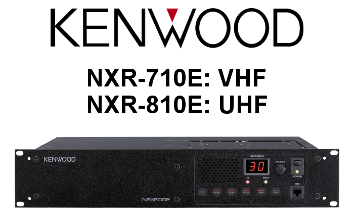 Repetidor Analógico-Digital KENWOOD NXR-710E / NXR-810E