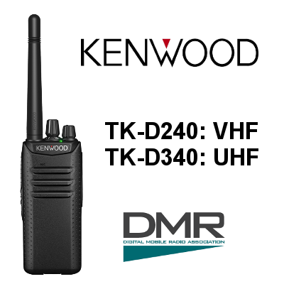 Walkie KENWOOD ANALÓGICO-DIGITAL DMR TK-D240 / TK-D340
