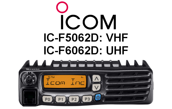 Emisora ICOM MULTIMODO ANALÓGICA-DIGITAL IC-F5062D / IC-F6062