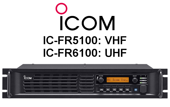 Repetidor ICOM ANALÓGICO-DIGITAL IC-FR5100 / IC-FR6100
