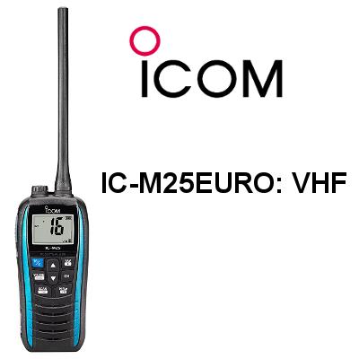 Walkie ICOM DE MARINA IC-M25 EURO VHF