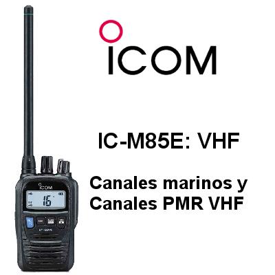 Walkie ICOM DE MARINA IC-M85E