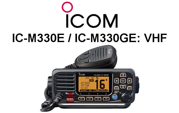 Emisora ICOM DE MARINA IC-M330E / IC-M330GE