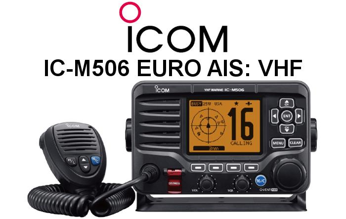 Emisora ICOM DE MARINA IC-M506 EURO