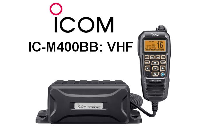 Emisora ICOM DE MARINA IC-M400BB