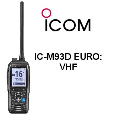 Walkie ICOM DE MARINA IC-M93D EURO