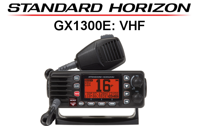 Emisora STANDARD HORIZON DE MARINA GX1300E