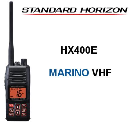 Walkie STANDARD HORIZON DE MARINA HX400E
