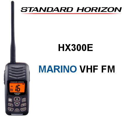 Walkie STANDARD HORIZON DE MARINA HX300E