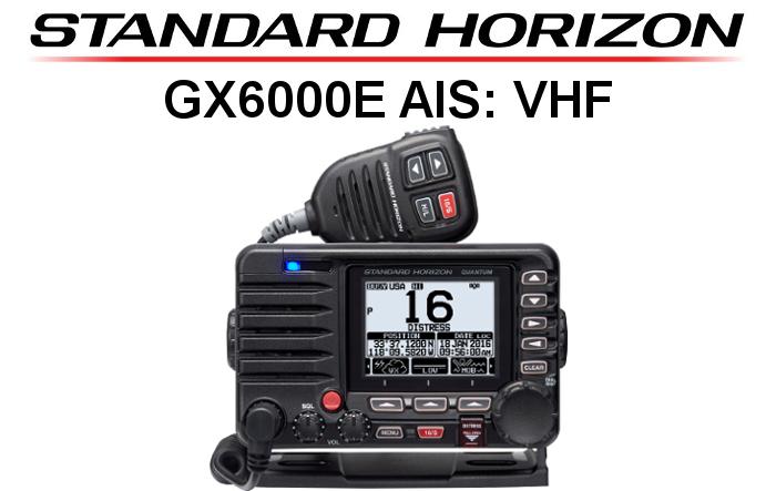 Emisora STANDARD HORIZON DE MARINA GX6000E