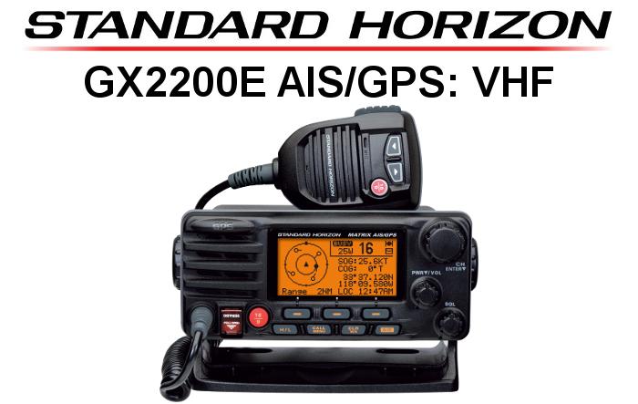 Emisora STANDARD HORIZON DE MARINA GX2200E