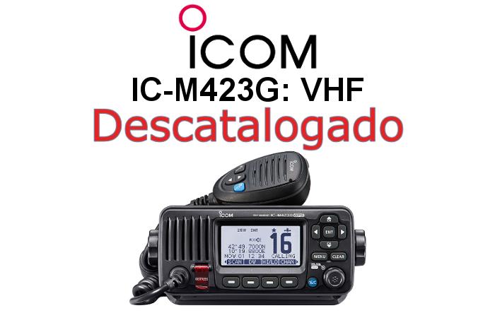 Emisora ICOM DE MARINA IC-M423G