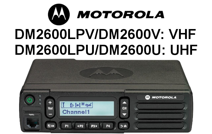 Emisora MOTOROLA DIGITAL DM2600