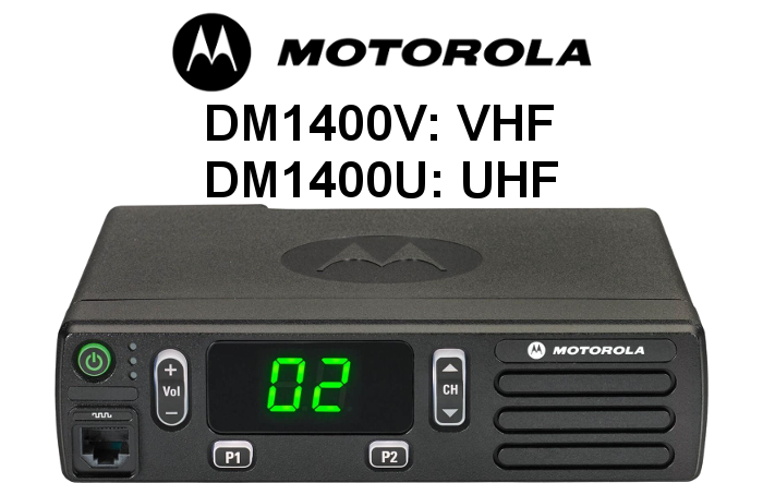 Emisora MOTOROLA Analógica-Digital DM1400