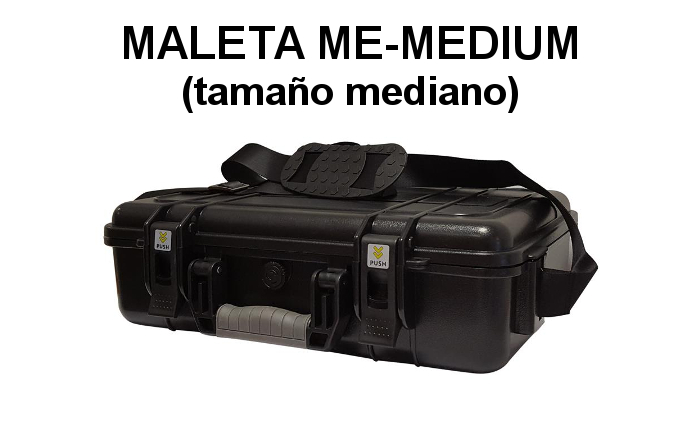 MALETA ME-MEDIUM PARA WALKIES Y EQUIPOS