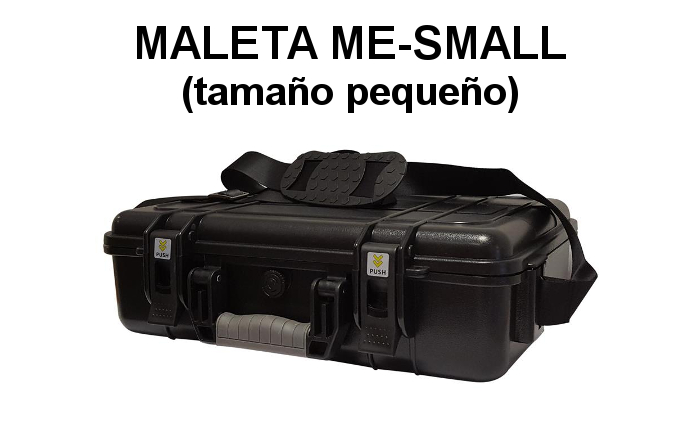 MALETA ME-SMALL PARA WALKIES Y EQUIPOS