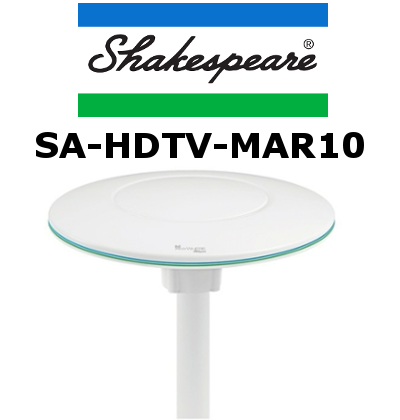 Antena TV SA-HDTV-MAR10 para marina de Shakespeare
