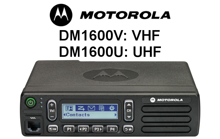 Emisora MOTOROLA Analógica-Digital DM1600