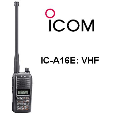 Walkie ICOM IC-A16E VHF