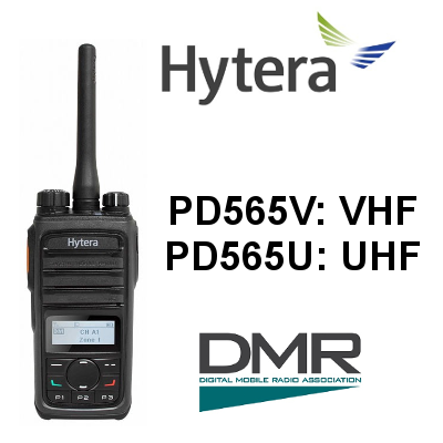 Walkie HYTERA DIGITAL PD565V / PD565U