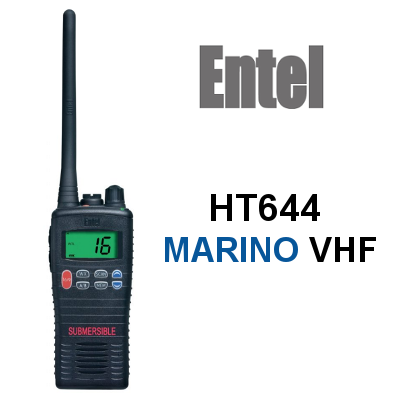 Walkie ENTEL DE MARINA HT644 VHF