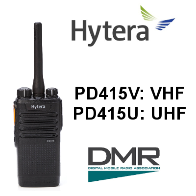 Walkie HYTERA DIGITAL PD415V / PD415U