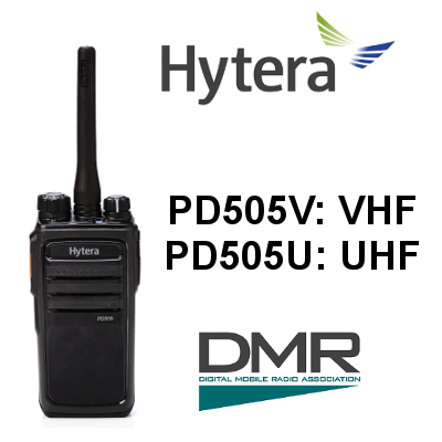 Walkie HYTERA DIGITAL PD505V / PD505U