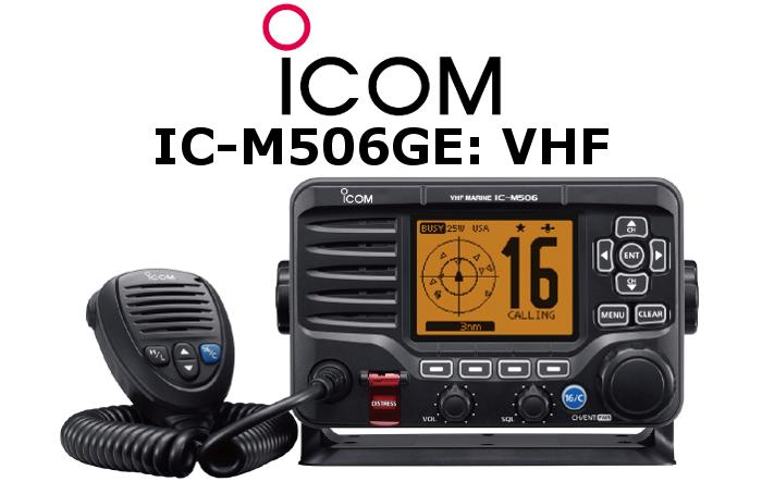 Emisora ICOM DE MARINA IC-M506GE