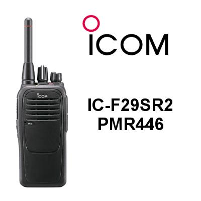WALKIE ICOM IC-F29SR DE USO LIRE PMR446