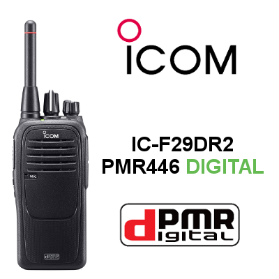 WALKIE ICOM IC-F29DR2 DIGITAL. CANALES DIGITALES Y ANALOGICOS. IP67
