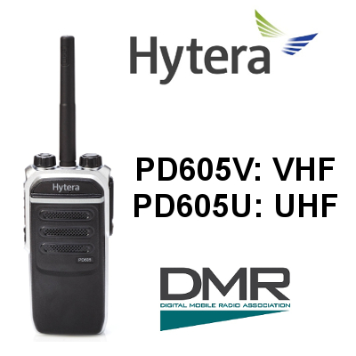 Walkie HYTERA DIGITAL PD605 / PD605G