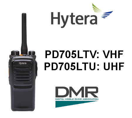 Walkie HYTERA DIGITAL PD705LTV / PD705LTU