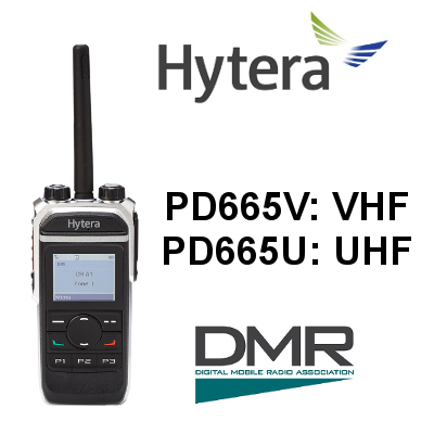 Walkie HYTERA DIGITAL PD665 / PD665G