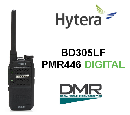 HYTERA BD305LF Walkie PMR446 DIGITAL 48 CANALES