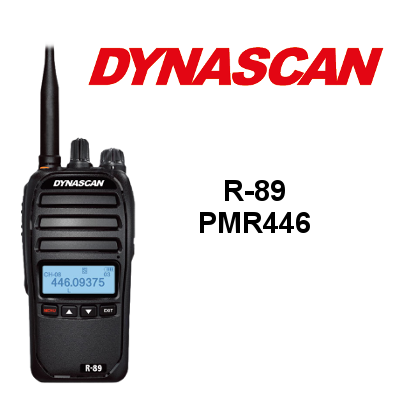 walkie Dynascan R-89 de 8 canales IP66