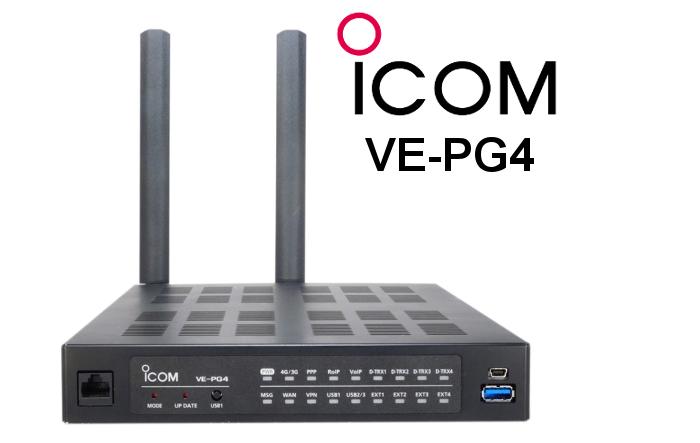 Radio de puerta de enlace ICOM VE-PG4