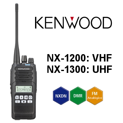 Radio Kenwood Digital NX-1200 / NX-1300