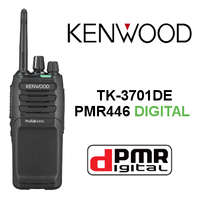 Walkie DIGITAL KENWOOD TK-3701DE DE 48 CANALES